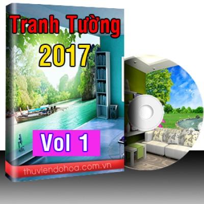 Tranh tường đặc sắc 2017 vol 1 (1250 mẫu)