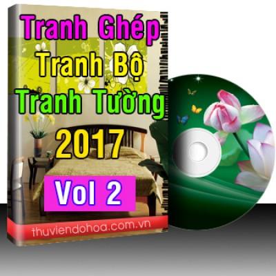 Tranh Ghép,Tranh Bộ,Tranh Tường 2017 Vol 2