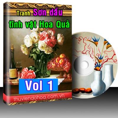 Tranh tĩnh vật hoa quả Vol 1 (3179 mẫu)