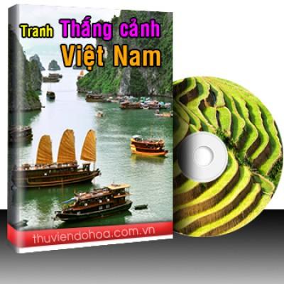 Tranh thắng cảnh Việt Nam Vol 1 (309 mẫu)