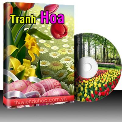 Tranh hoa Vol 1 (3451 mẫu)