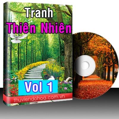 Tranh thiên nhiên Vol 1 (858 mẫu)