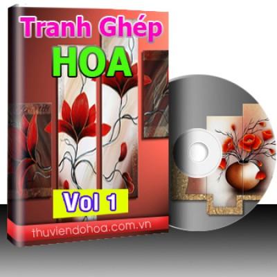 Tranh Ghép Hoa Vol 1 (448 mẫu)
