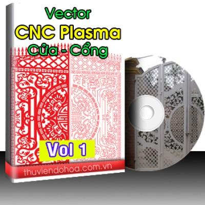 Vector CNC Plasma cửa cổng Vol 1