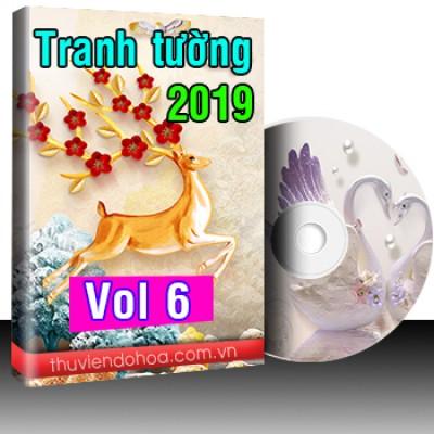 Tranh tường 2019 Vol 6 (295 mẫu)