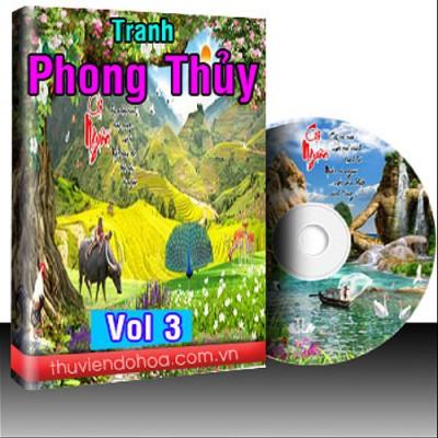 Tranh Phong Thủy Vol 3 (343 mẫu)