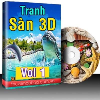 Tranh Sàn 3D Vol 1 (318 mẫu)