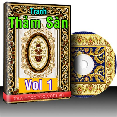 Tranh Thảm Sàn Vol 1 (476 mẫu)