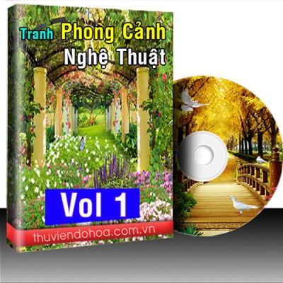 Tranh Phong Cảnh Nghệ Thuật Vol 1 (985 mẫu)