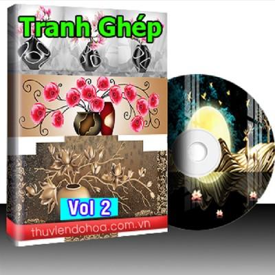 Tranh Ghép Vol 2 (162 mẫu)