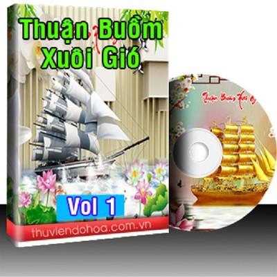 Tranh Thuận Buồm Xuôi Gió Vol 1 (285 mẫu)