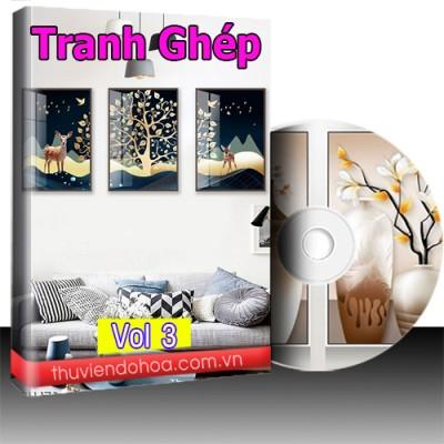 Tranh Ghép Vol 3 (335 mẫu)