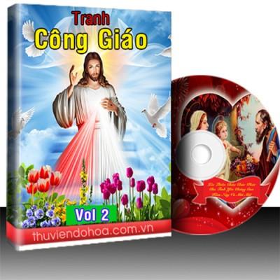 Tranh Công Giáo Vol 2 (216 mẫu)