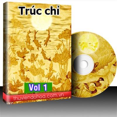 Tranh Trúc Chỉ Vol 1 (60 mẫu)