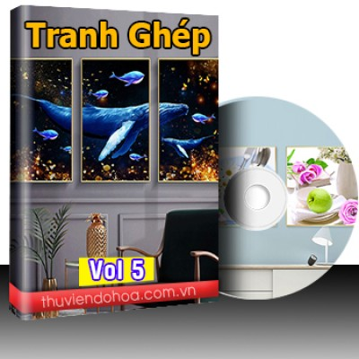 Tranh Ghép vol 5 (528 mẫu)