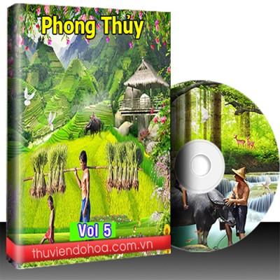 Tranh Phong Thủy Vol 5 (849 mẫu)