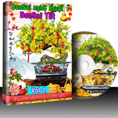 Tranh Bonsai vol 2 (206 mẫu)