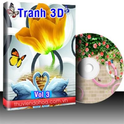 Tranh 3D vol 3 (954 mẫu)