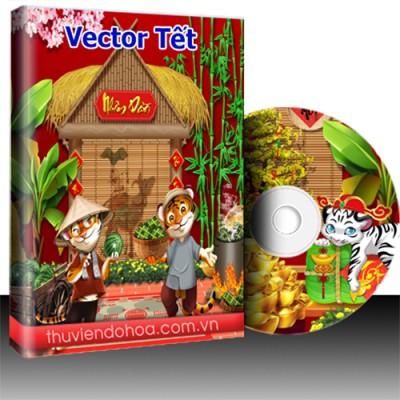 Vector Tết năm mới