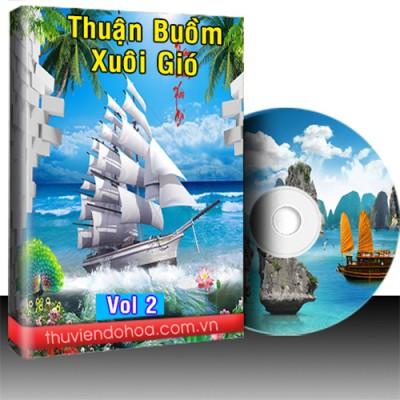 Tranh thuận buồm xuôi gió vol 2 (381 mẫu)