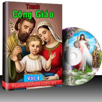 Tranh công giáo vol 4 (170 mẫu)