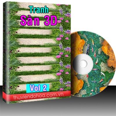 Tranh sàn 3D vol 2 (175 mẫu)