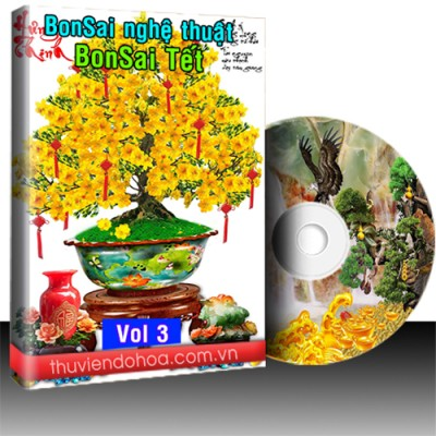 Tranh Bonsai nghệ thuật vol 3 (98 mẫu)