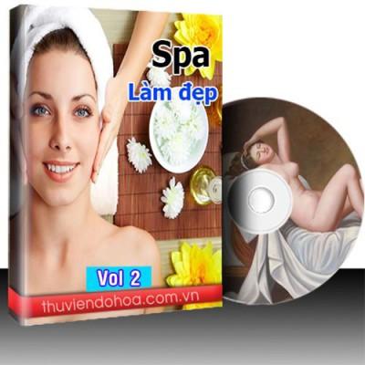 Tranh Spa làm đẹp vol 2 (7421 mẫu)