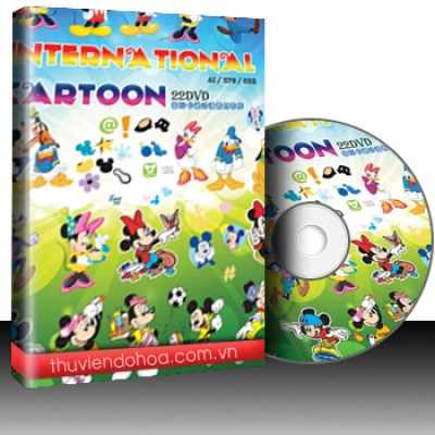 International Cartoon & Animation Material Library